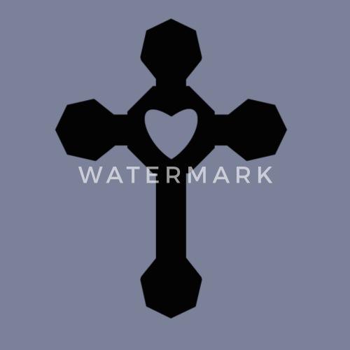 Croix Religieuses croix religieuse coeur de | spreadshirt