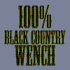 100% Black Country Wench - Women's Premium T-Shirt