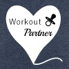 Workout Partner, Schwangerschaft, Fitness - Frauen Premium T-Shirt