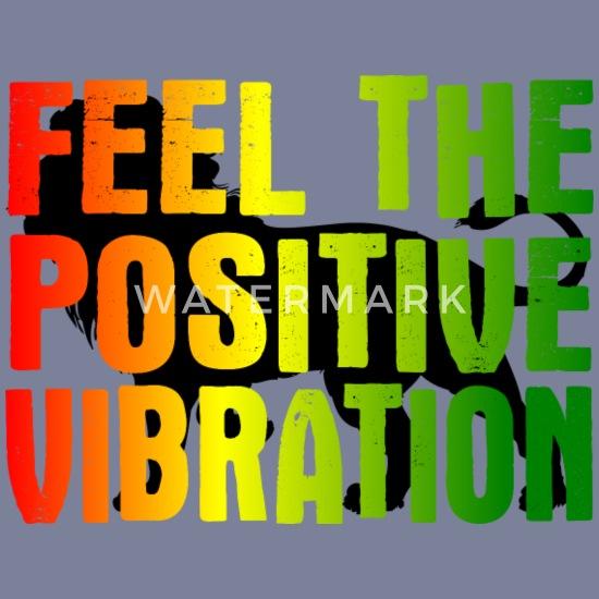 Vibration positive Reggae Lion T-shirt premium Femme
