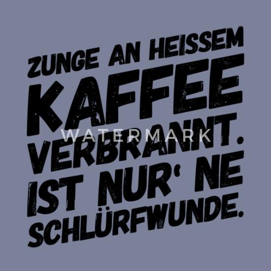 Kaffee Lustige Sprüche Wortspiel Frauen Premium T Shirt