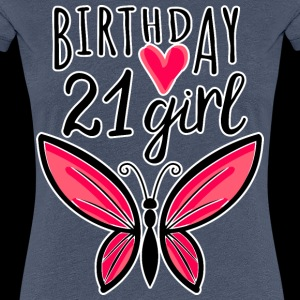 21st birthday birthday girl butterfly