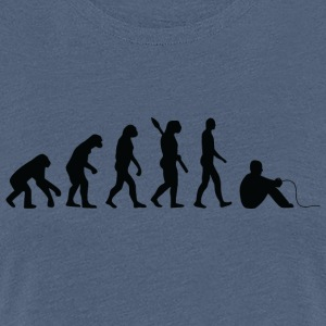 Evolution GAMER b - Women's Premium T-Shirt