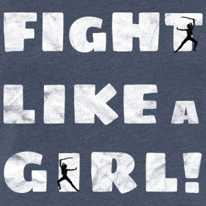 Fight Like A Girl Distressed