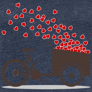 Cargo bike love hearts