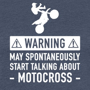 Motocross Funny Gift Idea - Women's Premium T-Shirt