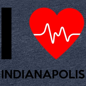 I Love Indianapolis - I Love Indianapolis - Women's Premium T-Shirt