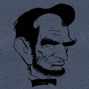 Lincoln cartoon - Women's Premium T-Shirt