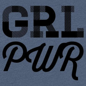 girlpower - Vrouwen Premium T-shirt