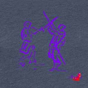 PURPLE SWORD - Frauen Premium T-Shirt