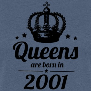 Queens 2001 - Frauen Premium T-Shirt