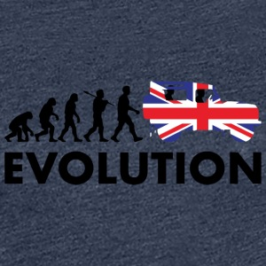 British evolution - Premium-T-shirt dam
