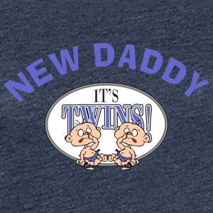 New Daddy It's Twins - Women's Premium T-Shirt