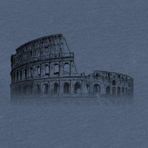 Around The World: Colosseum - Roma - Premium T-skjorte for kvinner