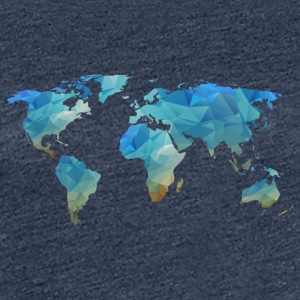 map transparent - Dame premium T-shirt