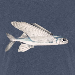 Schwalbe fish (flying fish) - Women's Premium T-Shirt