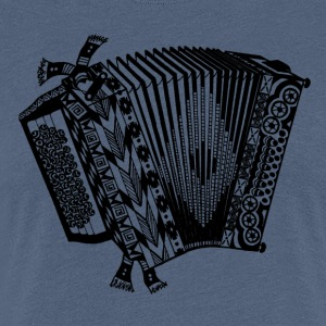 accordeon - Vrouwen Premium T-shirt