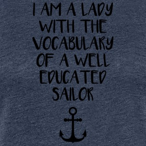Seafaring vocabulary - Women's Premium T-Shirt