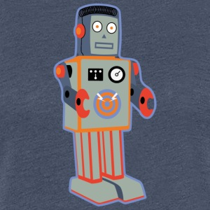 Patch_Robot - Dame premium T-shirt