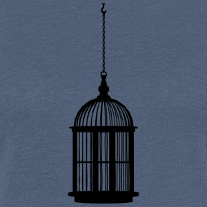 bird cage - Women's Premium T-Shirt
