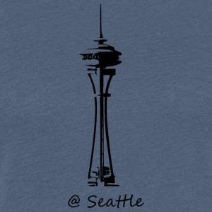 Seattle - Dame premium T-shirt