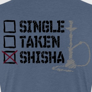 SINGLE? TAKEN? SHISHA! - Frauen Premium T-Shirt