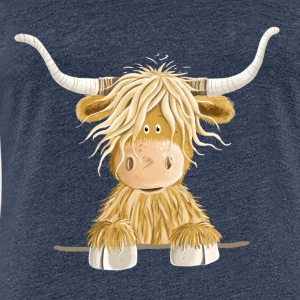 Funny Scottish Highland cow cow gift