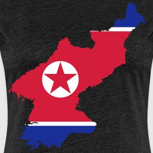 North Korea - Premium-T-shirt dam