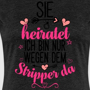 bachelorette party 02 - Frauen Premium T-Shirt