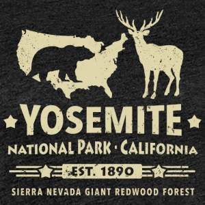 Yosemite National Park Kalifornien Bär Redwood - Frauen Premium T-Shirt
