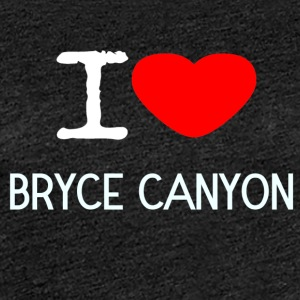 I LOVE Bryce Canyon - Dame premium T-shirt
