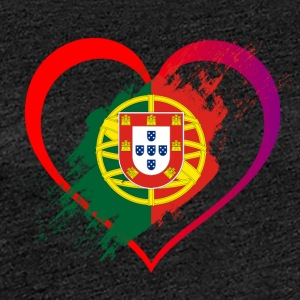 I LOVE PORTUGAL COLLECTION - Dame premium T-shirt