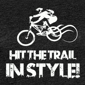 Hit the Trail in Style! Mountainbike Love - Frauen Premium T-Shirt