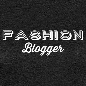 Fashion Blogger 2 - vit - Premium-T-shirt dam