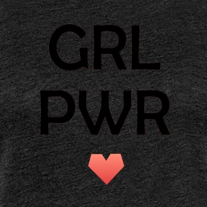 Girl Power - Premium-T-shirt dam