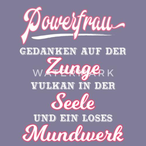 powerfrauen sprüche POWERFRAU ::: Frauen Premium T Shirt | Spreadshirt powerfrauen sprüche