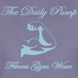The Daily pump biceps - Premium-T-shirt dam