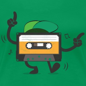 Dancing Cassette Tape (Vintage Style)