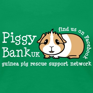 Piggy Bank 'Guinea Pig' (white text)