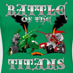 Battle Of The Titans - Premium-T-shirt dam
