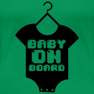 Baby Boarding Glitch - Women's Premium T-Shirt