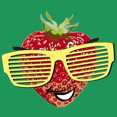 Erdbeere Frauen Bio T-Shirt | Spreadshirt