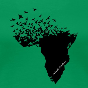 Flying / Afrika - Premium-T-shirt dam