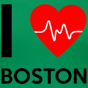 I Love Boston - jeg elsker Boston - Premium T-skjorte for kvinner
