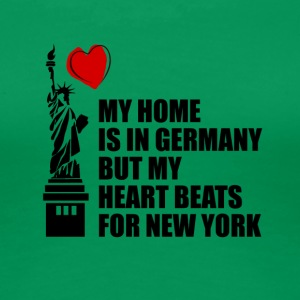 My Home is in Germany - Frauen Premium T-Shirt