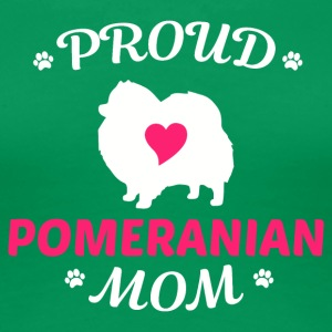proud pomeranian mom - Women's Premium T-Shirt