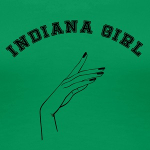 Indiana girl - Frauen Premium T-Shirt