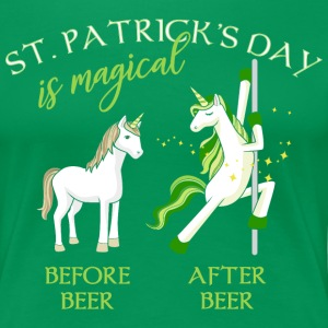 St. Patricks Day is magical Einhorn Bier Lustig