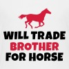 Will trade brother for horse - Kids' Premium T-Shirt