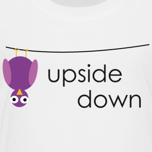 Bird upside down - Kids' Premium T-Shirt